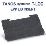 Tanos systainer T-Loc Lid insert