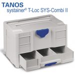 TANOS systainer T-Loc SYS-Combi II light gray