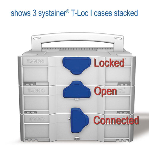 Tanos systainer T-Loc stack