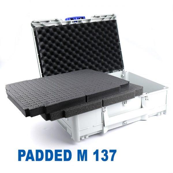 Tanos Systainer3 M 137 Storage Case with foam
