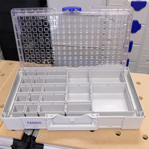 Tanos Systainer3 Organizer L89 Storage Case with 20 insert boxes