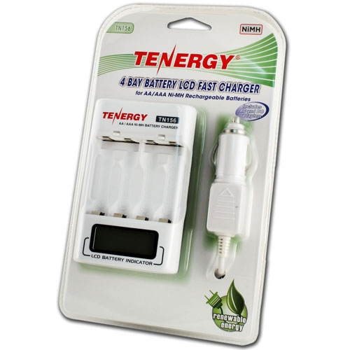 Tenergy 4-Bay Fast Charger TN156