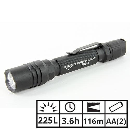 TerraLUX PRO-2 Professional Flashlight