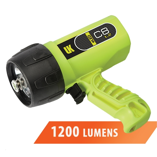 Underwater Kinetics C8 eLED L2 Rechargeable Dive Light