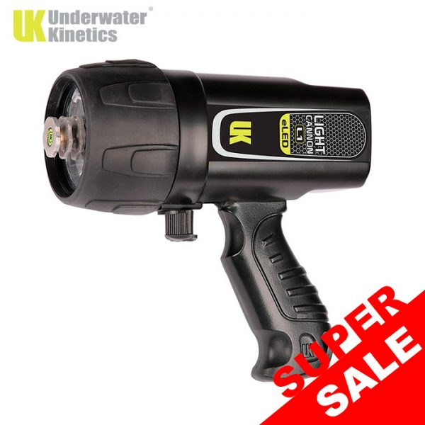 Underwater Kinetics Light Cannon eLED L1 Rechargeable Dive Light
