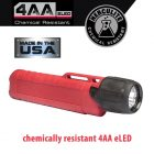 Underwater Kinetics UK4AA eLED Herculite Flashlight