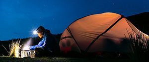 Camping flashlights, headlamps and lanterns