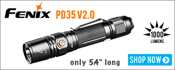 New Fenix PD35 V2.0 Compact Flashlight