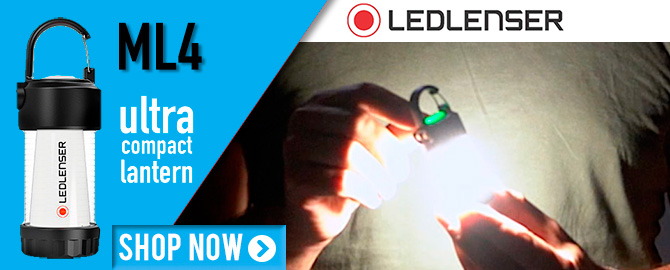 LED Lenser ML4 Ultra Compact Lantern