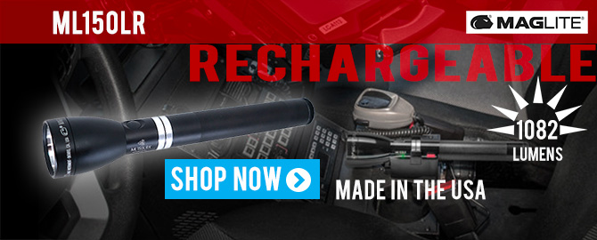 Maglite ML150LR Rechargeable Flashlight