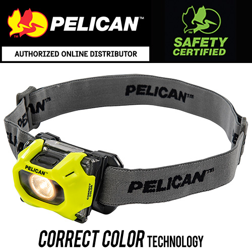 Pelican 2755CC Safety Certified Correct Color Headlamp
