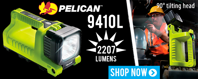 Pelican 9410L Rechargeable Lantern   Work Light