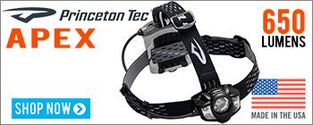 Princeton Tec Apex 650 Headlamp - Made in USA