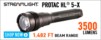 Streamlight ProTac HL® 5-X flashlight with up to 3500 lumens