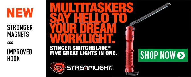 Streamlight Stinger Switchblade® Work Light