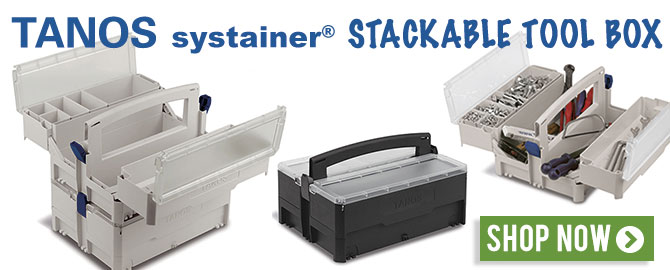 Tanos systainer® stackable tool box